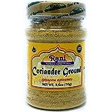 Rani Coriander Ground Powder (Indian Dhania) Spice 2.5oz (70g) PET Jar ~ All Natural, Salt-Free   Vegan   No Colors   Gluten