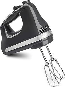 KitchenAid KHM512GT Pro Line 5 Speed Hand Mixer, Tempest Grey (Renewed)