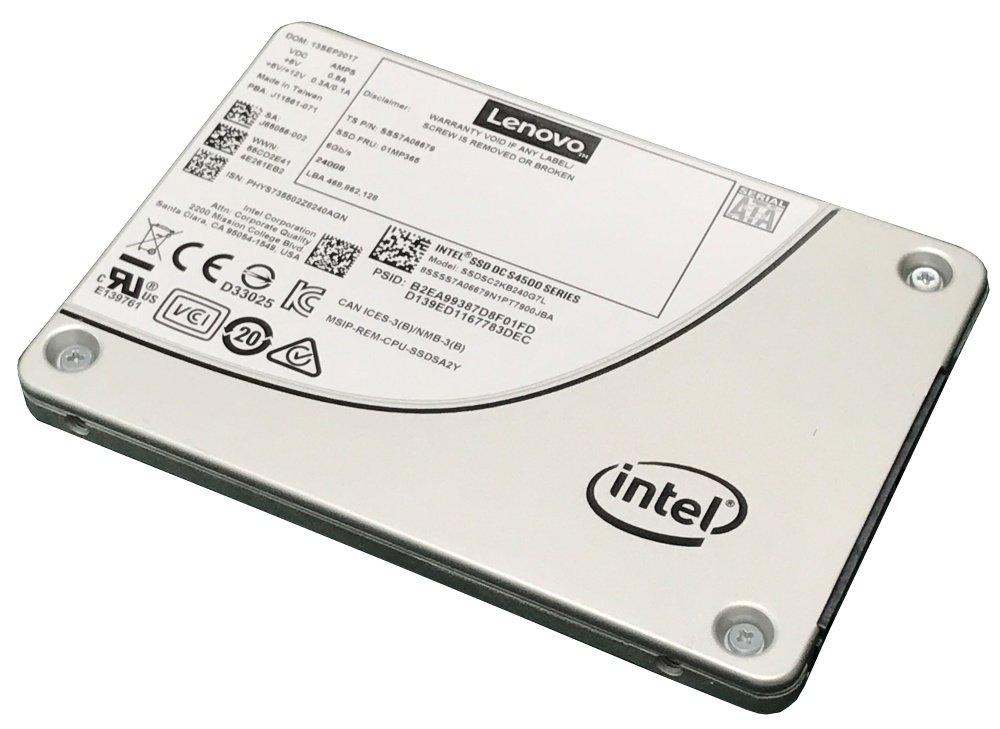 SSD 480GB SATA Lenovo 7SD7A05741 Thinksystem 2.5in Intel S45