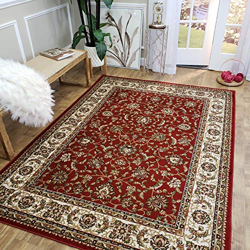 Mahal Rug Red - MH10 |Maxy Home Istanbul 5'3