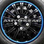 """13"""" inch SW Black Blue Ring Multi Spo..."""