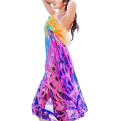 29e0eaeddbc8e New 140x190cm Scarf Women Beach Sarongs Robe de Plage Beach Cover Up Summer  Chiffon Scarves Geometrical