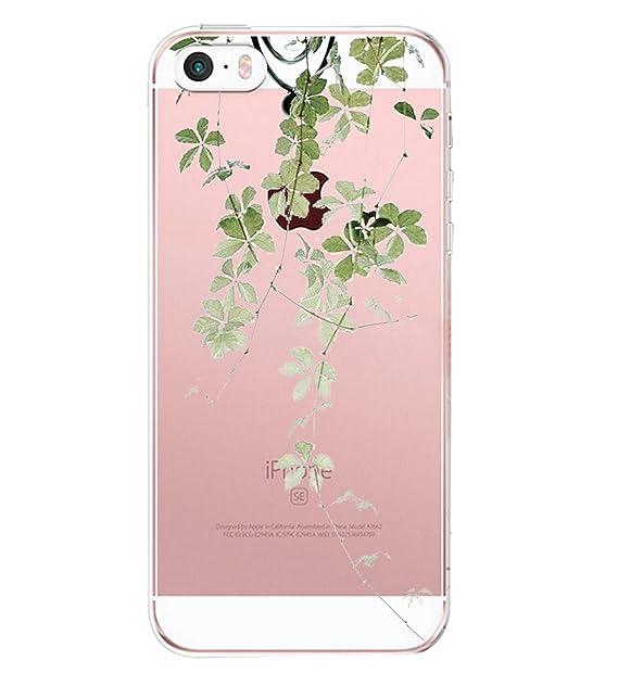iphone SE Funda, Carcasa iphone 5s Case Cover Dibujos ...