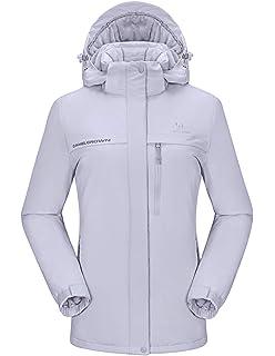 Amazon.com: Chamarra de ski y snowboard impermeable y ...