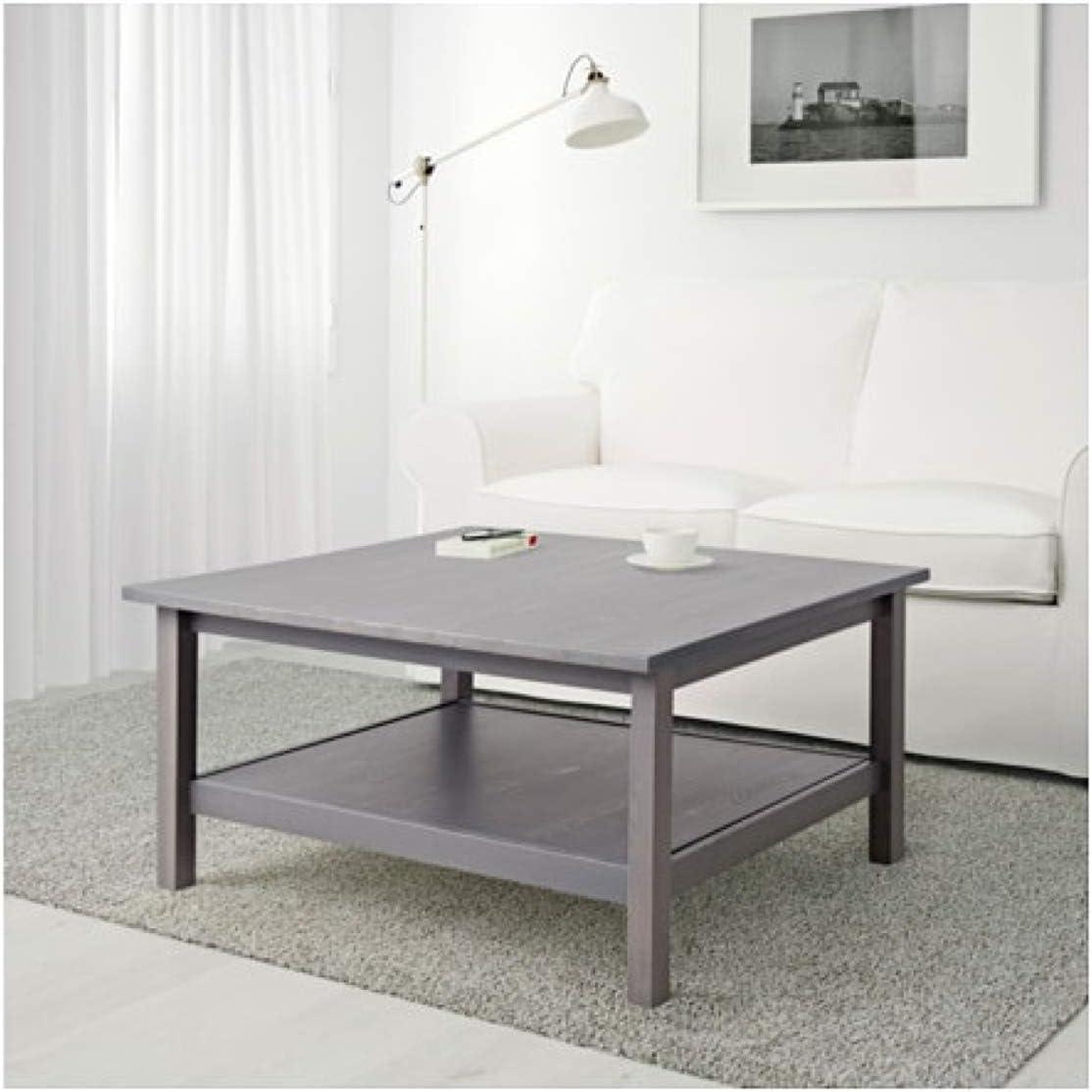 Amazon Com Ikea Hennes Coffee Table Dark Gray Gray Stained