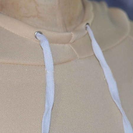 Amazon.com : Korowa Traje de jogging de mujer Trajes de sudadera a juego de manga larga Sudadera con capucha y pantalón de chándal de deporte de 2 piezas ...