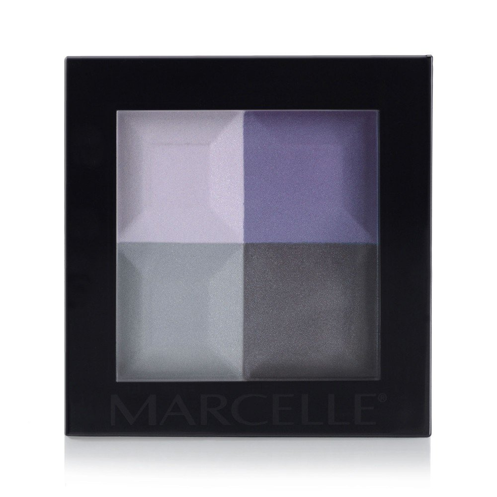 Marcelle Eyeshadow Quad - Rhythm in Blues, Hypoallergenic and Fragrance-Free Groupe Marcelle 167924