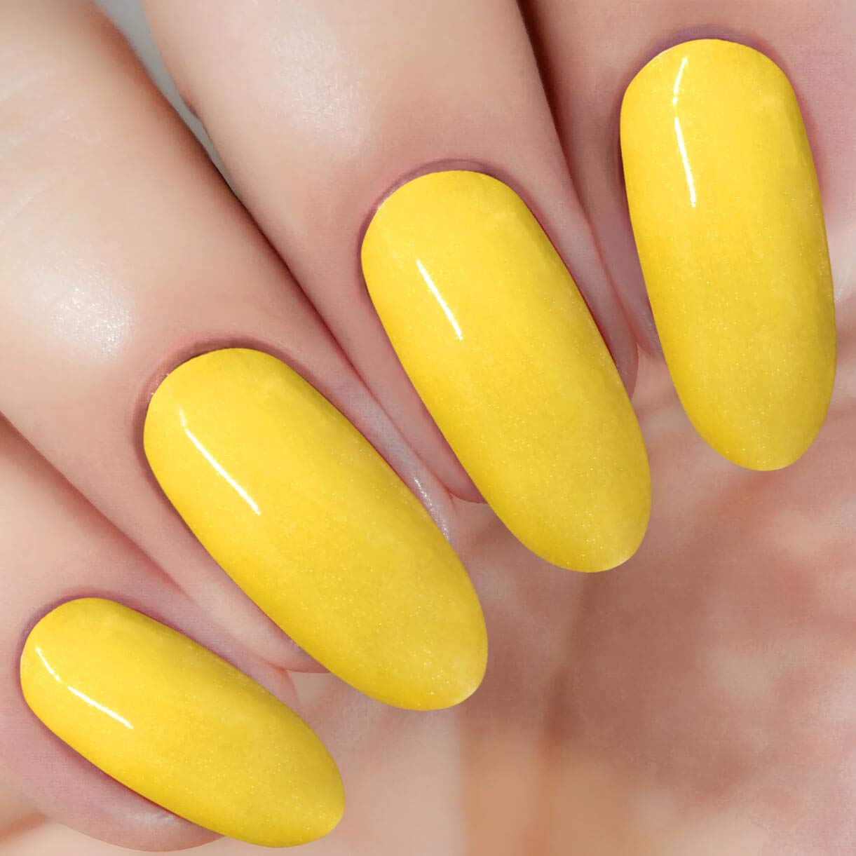 Yellow Dipping Powder (Added Vitamins) 1 Ounce, I.B.N Dipped Acrylic Dip Powder DIY Manicure Salon Home Use (DIP 041)