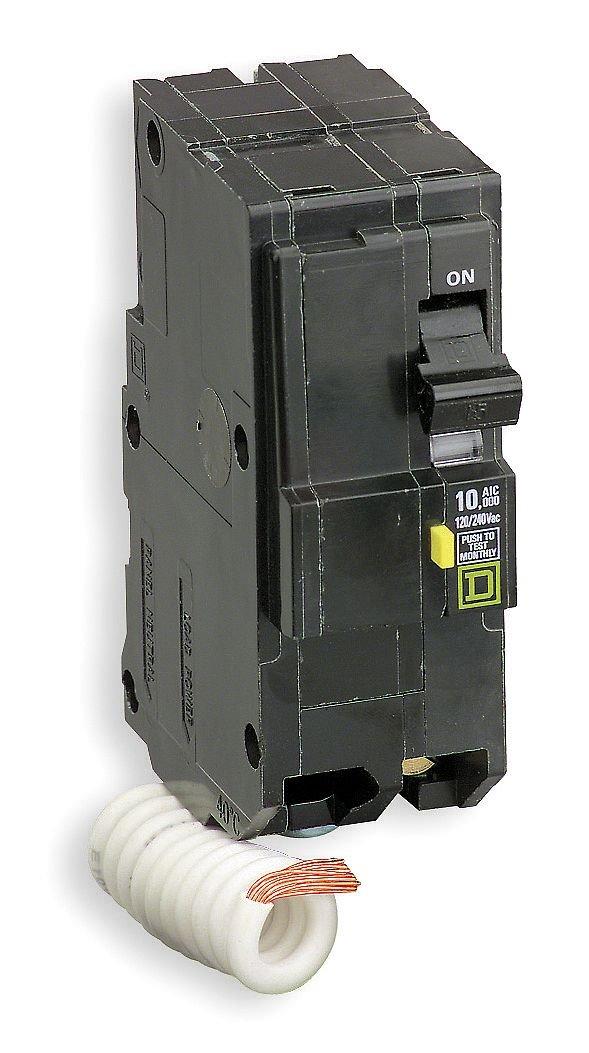 SCHNEIDER ELECTRIC Miniature Circuit Breaker 120/240-Volt 30-Amp QO230GFI H361Nrb with Special Paint