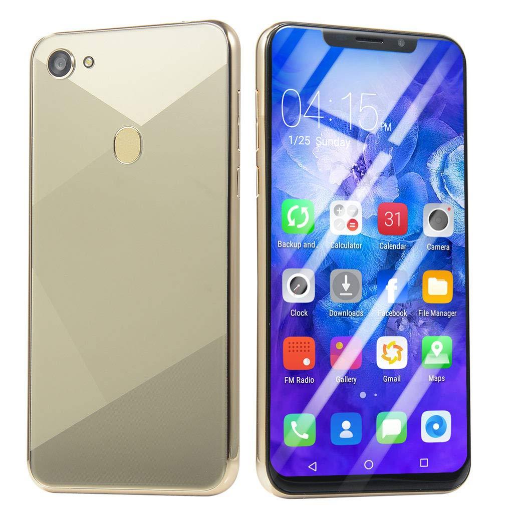 Oasics Smartphone, F7 6,1 Zoll Ultradünne Android 6.0 Quad-Core 1 GB + 8 GB GSM WiFi Dual SIM 8.0MP Smart Mobiltelefon