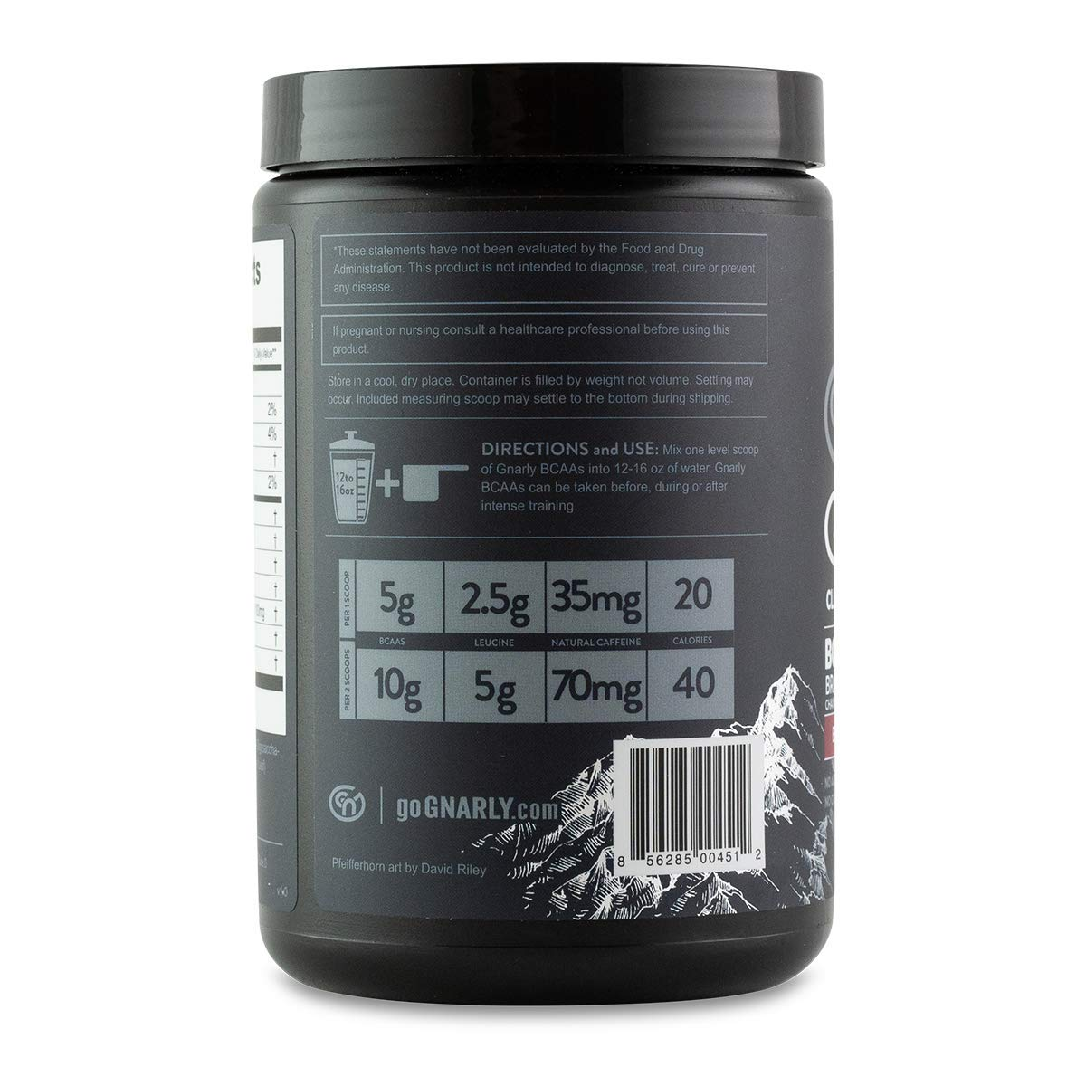 be88b26f7 Amazon.com  Gnarly Nutrition BCAA Workout Supplement