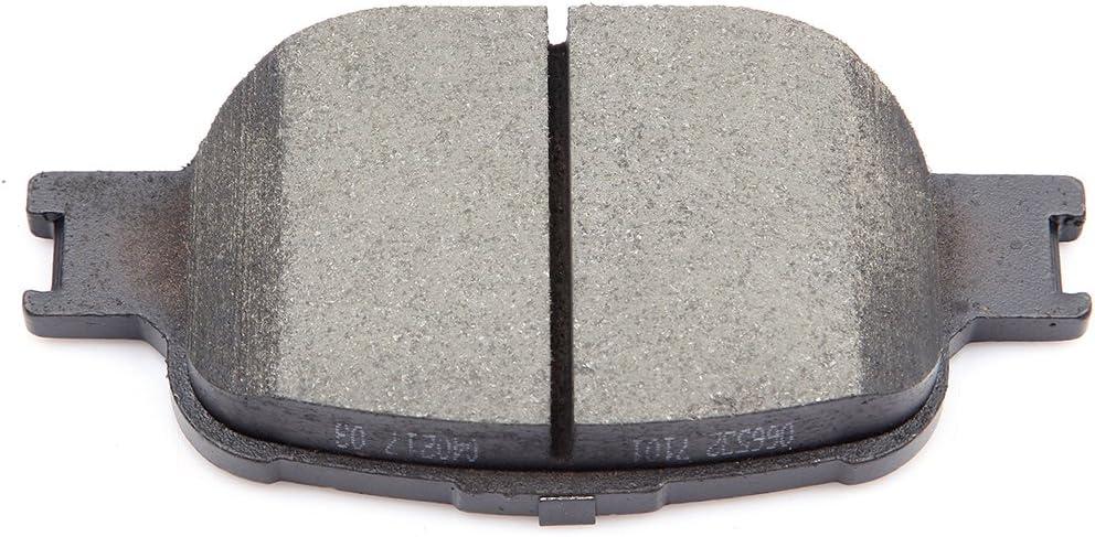 cciyu Ceramic Front Rear Disc Brake Pad Set Fit for 2005-2010 for Scion tC,8pcs