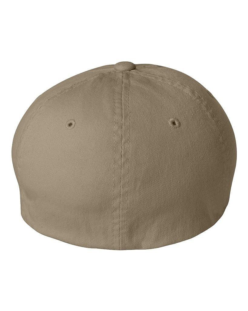 758dc656483 Flexfit Low-profile Soft-structured Garment Washed Cap (Black