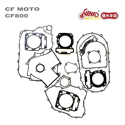 Amazon Com Nihao Cfmoto Engine Full Gasket Cf800 Cf2v91w 800cc Cf