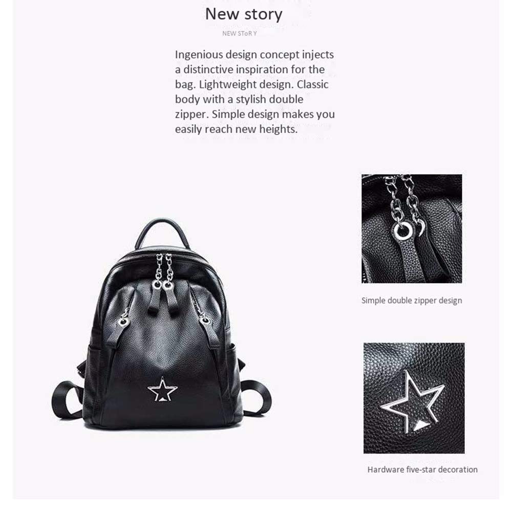 96f94e586b4d Amazon.com: LLMLCF New First Layer Leather Shoulder Bag Fashion ...