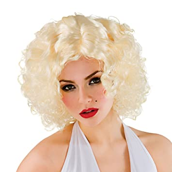 Perruque Adulte de Marilyn Monroe Blonde