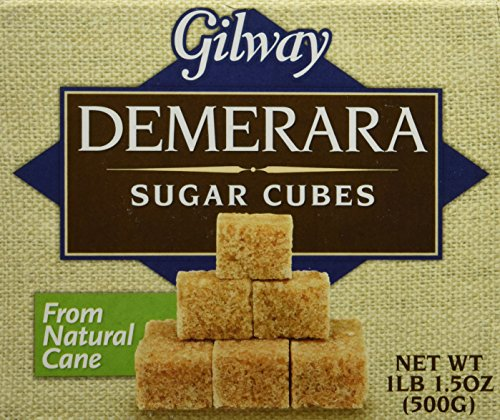 Gilway Demerara Sugar Cubes, 17.5-Ounce Boxes (Pack of 2)