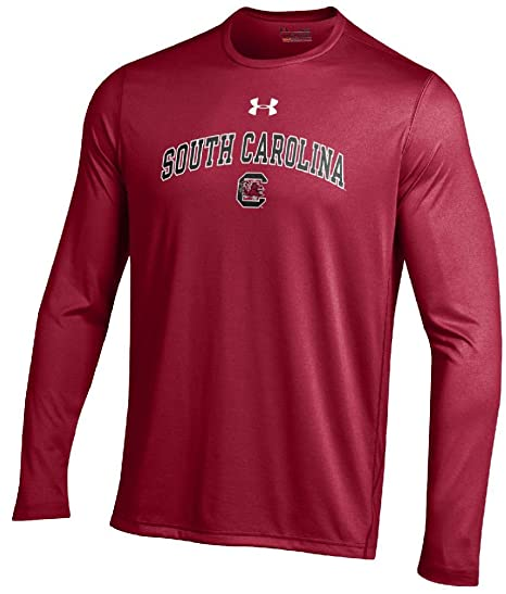 9f38e659 Image Unavailable. Image not available for. Color: South Carolina Gamecocks  Cardinal Poly Dry HeatGear NuTech Long Sleeve Shirt by Under Armour ...