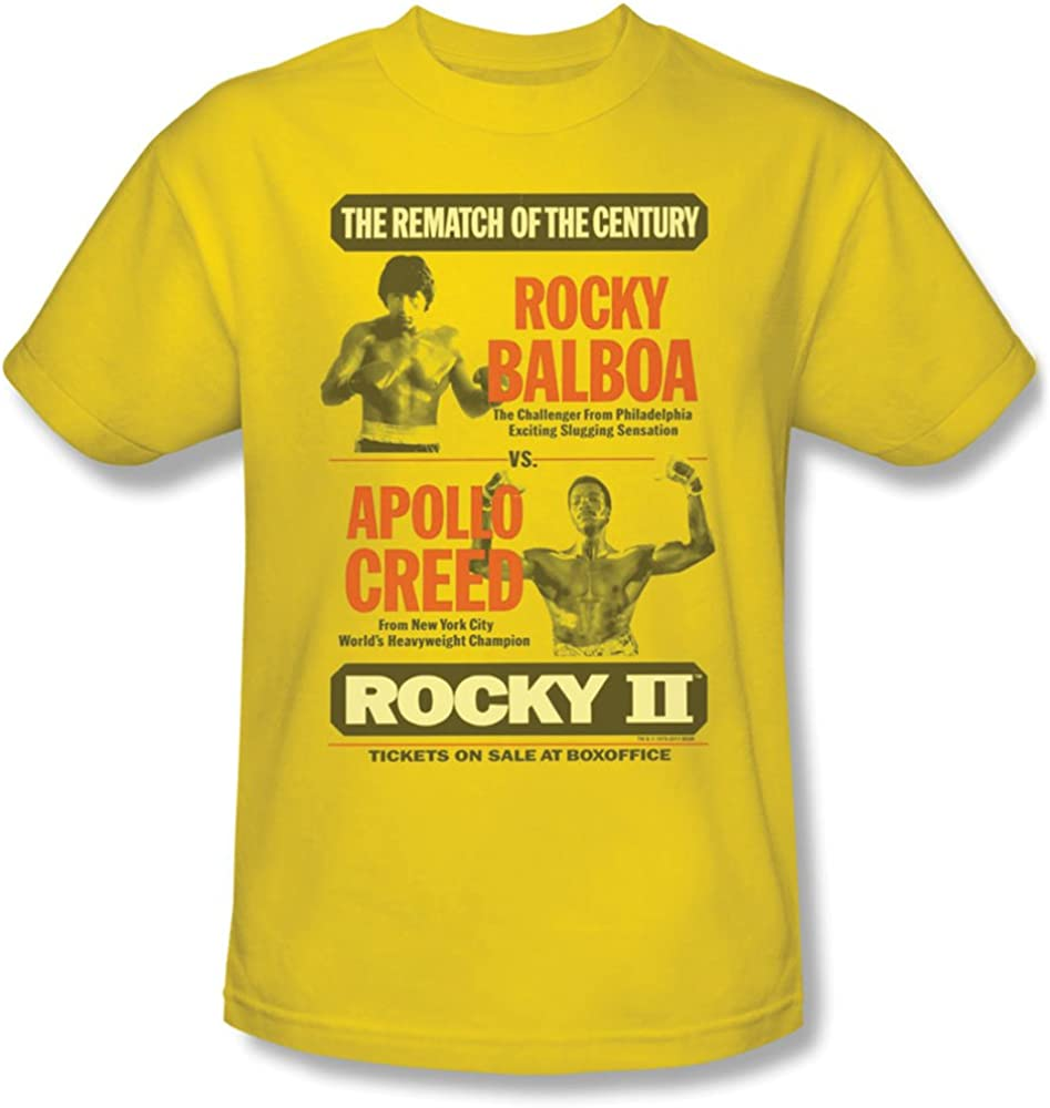 Rocky Movie Rockie Balboa Poster Licensed Adult T-Shirt All Sizes
