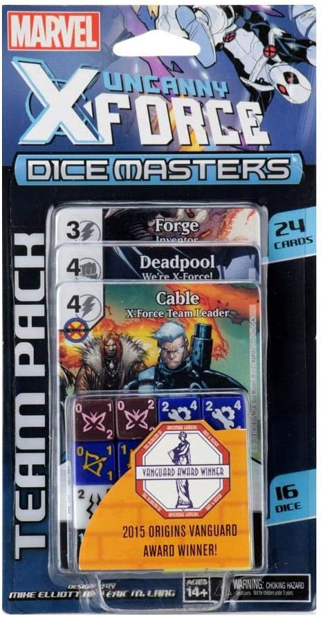 Wizkids Marvel Dice Masters Team Pack Uncanny X-Force *English Version Board: Amazon.es: Juguetes y juegos