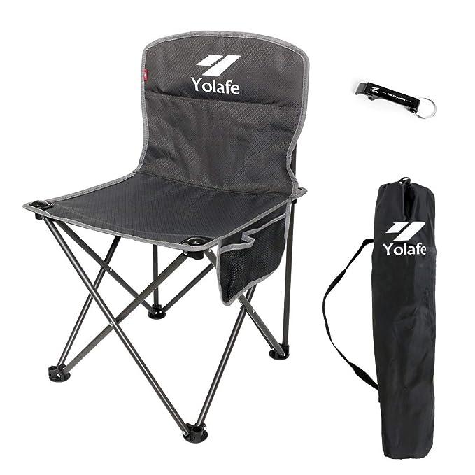 Amazon.com: Silla de camping pequeña, ligera, portátil ...