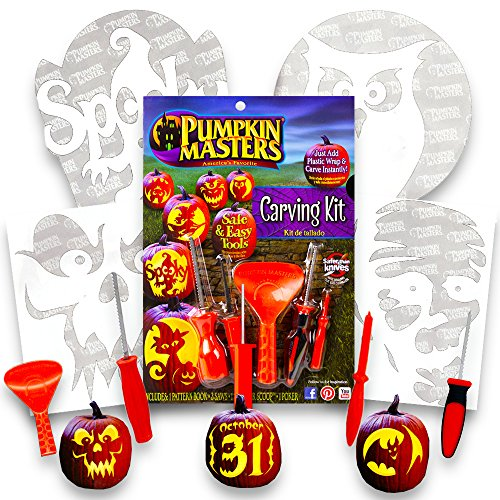 Pumpkin Masters Carving Patterns Tools product image