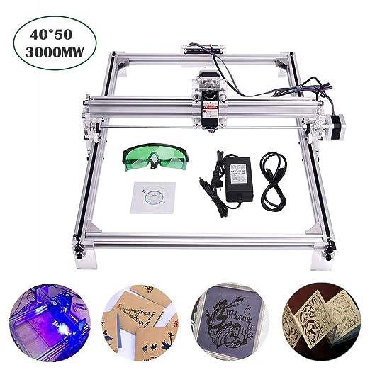 Kits de grabador láser de 3000 mW, MYSWEETY 40x50cm DIY ...