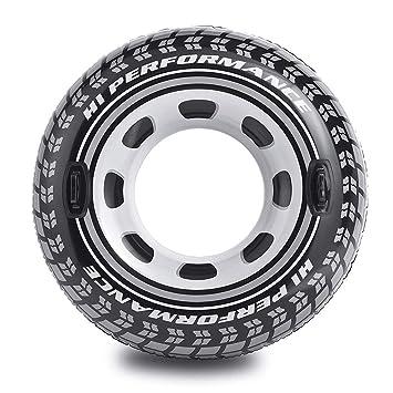 Intex 56268NP - Rueda hinchable neumático y con asas, diámetro 114 cm: Amazon.es: Hogar