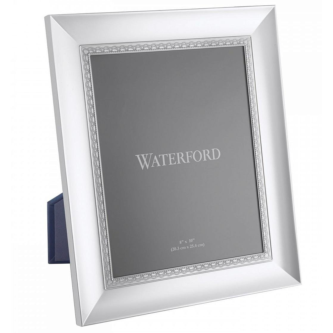 Amazon.com - LISMORE LACE patterned 8x10 silver frame by Waterford ...