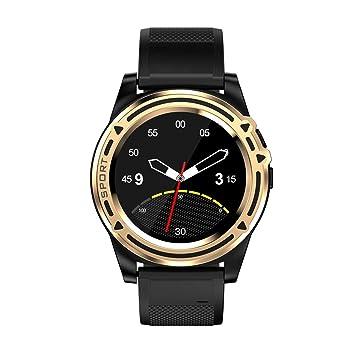 QTEC Reloj Inteligente Bluetooth Gold Smart Watch Android ...