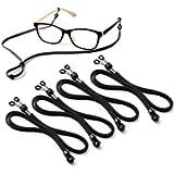 Eyeglasses Holder Strap Cord - Premium ECO Leather Eyeglasses String Holder Chain Necklace - Glasses Cord Lanyard…