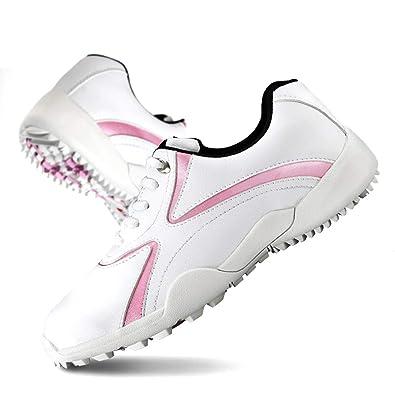 KERVINFENDRIYUN Chaussures de Golf Chaussures sans Crampons