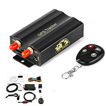 HUAXING GPS Tracker Car Quad Band Antirrobo Vibración Alarma ...