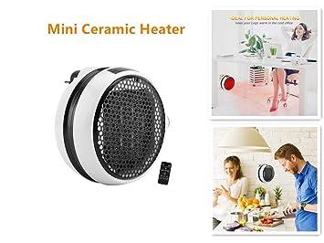 Calefactor Cerámico de Bajo Consumo Calefactor Baño Calefactor Calentador Electrico Calentador Instantáneo Mini Calefacción Calefactor Eléctrico Portátil ...
