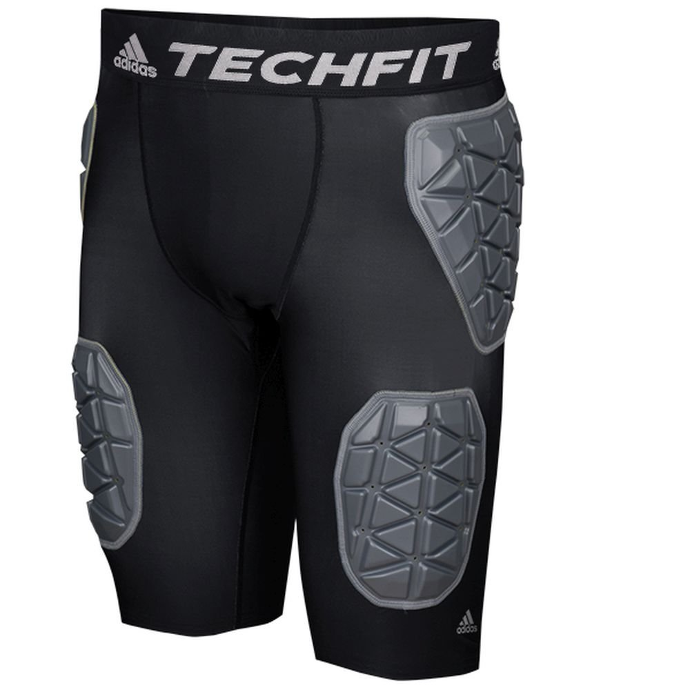 Adidas Techfit Ironskin 5 Mens Padded Football Girdle M Black