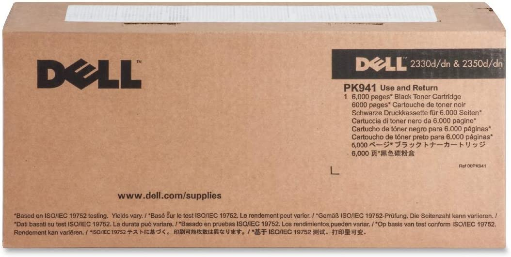 Dell Pk942 Black Toner for 2330d/2330dn/2350d/2350dn