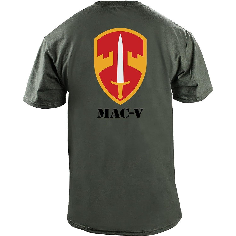 Army MAC-V Unit Full Color Veteran T-Shirt