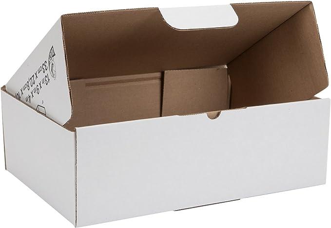 """50 Postal Storage Cardboard Boxes 13.5 x 9.5 x 4.5/"""" D//W"""