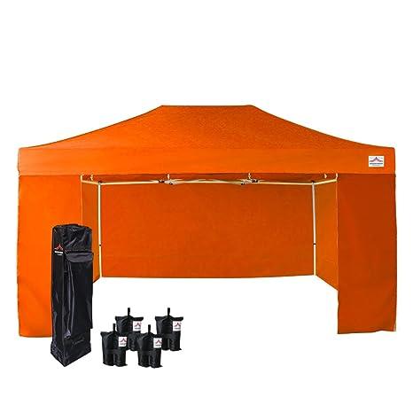 4 Sand Bags Blue Uniquecanopy 10x15 Ez Pop Up Canopy Tent Commercial Instant Shelter With 4