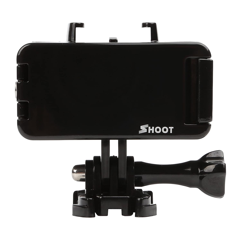 D/&F 6 imperm/éable Port D/ôme Transparent Plong/ée Logement Cas avec Flottant Grip pour GoPro Hero 4//3 Sous-marine 30M Photographie