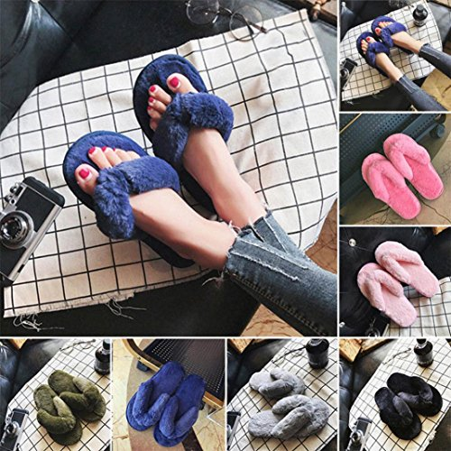 Chaussons Flip Plush Rawdah Fille Rose Spa 2017 Flops Tongs Chaussures Femme House wBqvB8X