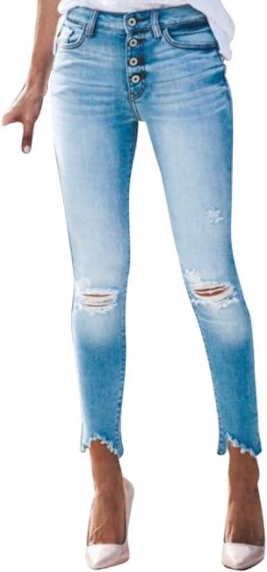 Amazon Com Dalia Jade Kan Can Jeans Kc9154m Pantalones Vaqueros Ajustados Con Boton De Lavado Ligero Skinny 28 Kc9154m Lavado Ligero Medio Clothing