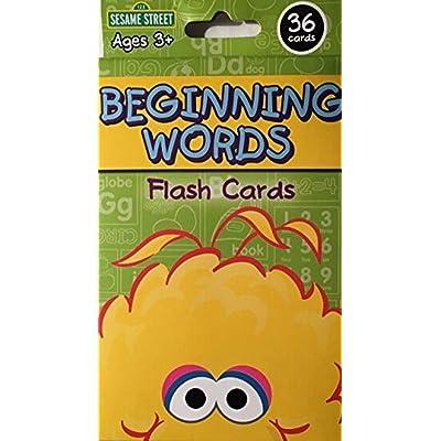 Sesame Street Beginning Words Flash Cards: Toys & Games