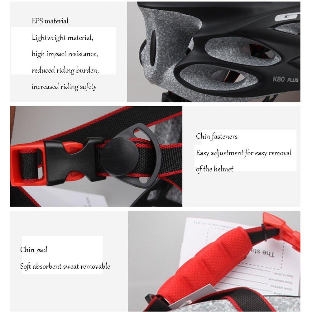 c485912bdf black Hflsmm ess-Casco de ciclismo Goggles One lens Bicicleta de montaña de  una pieza Bicycle ...