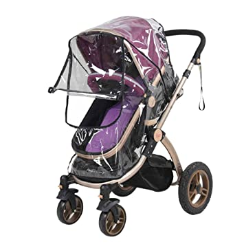 Pushchair Rain Cover Universal Baby Stroller Buggy Raincover Weather Shield for