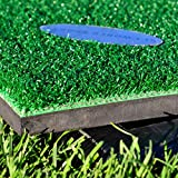 Fairway Hitting Mat for FORB Pro Driving Range Mat (20in x 36in) – Pro-Quality Golf Mat With Rubber Base & Golf Ball Holder [Net World Sports]