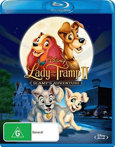 Lady & The Tramp II: Scamp's Adventure [Blu-ray]