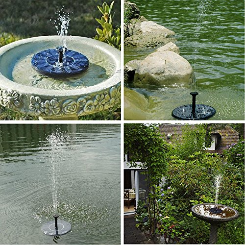 Integrative Solar Fountain Pump,Solar Powered ...