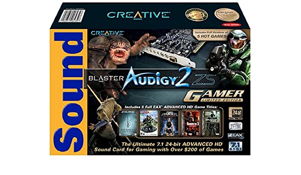 AUDIGY GAMER DRIVERS WINDOWS 7