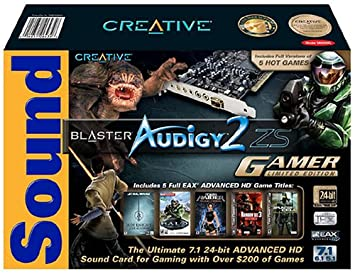 Creative Labs Sound Blaster Audigy 2 ZS tarjeta de sonido ...